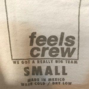 Feels Crew Tops - Feels Crew Tee Small